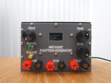 自制Microbit 函数发生器