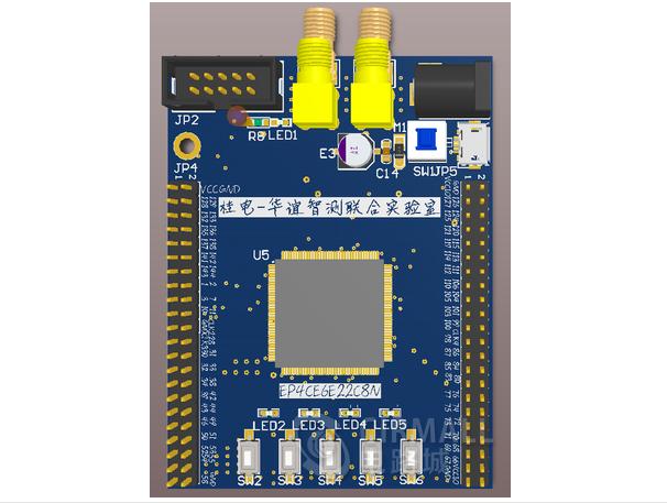 EP4CE622C8N核心板PCB工程