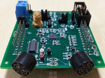 基于MSP430的超聲波測距電路板設計