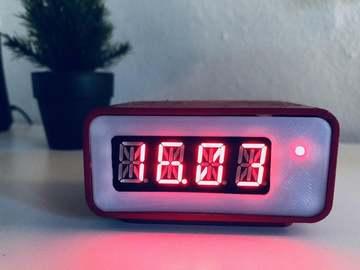 基于树莓派零的复古数字时钟