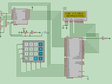 基于STM32电子秤电路方案设计( proteus仿真+代码)