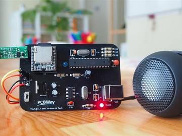 基于PIR和IR的自制通话/语音通知系统