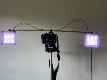 基于ESP32的LED相机灯