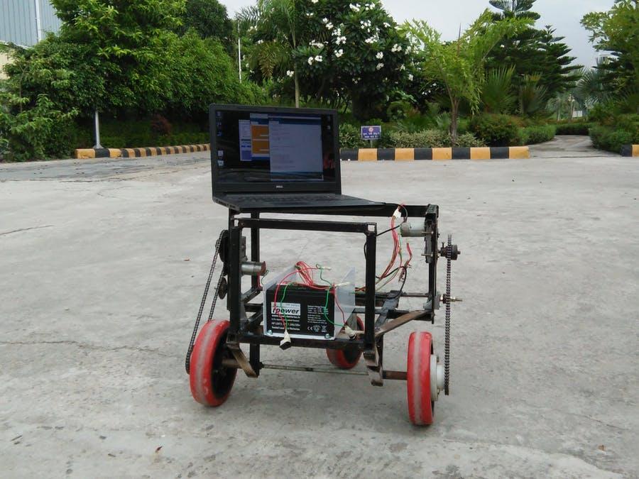 基于Arduino UNO的負重運載機器人