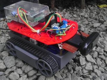 国外大神教你做基于树莓派的监控机器人