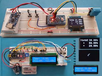 低功耗的温湿度监控器