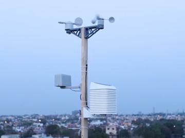 基于EP32的太阳能WiFi气象站