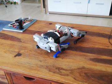 利用3D打印,带你动手搭建一个四足机器人