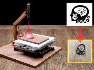 基于Arduino UNO的DiY迷你激光雕刻机