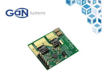 贸泽电子将备货GaN Systems的GS-EVB-HB-66508B-ON1评估板