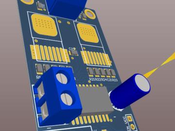 BTN7971驱动板设计方案