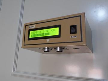 基于Arduino微控制器开发的测高机电路方案设计(代码+接线图)