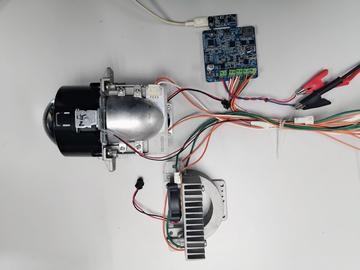 基于Infineon TLD5542-1新一代汽车远近光LED大灯驱动方案(测试文件+方案阐述)