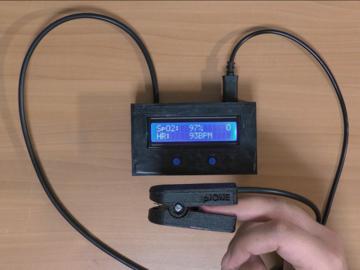 DIY脉搏血氧仪(无专用部件)