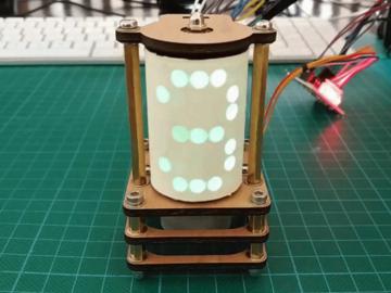 创意无极限,基于28-BYJ48步进电机的人造数码管风格的显示屏电路设计
