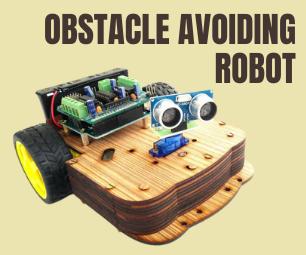 基于Arduino Uno制作智能避障机器人