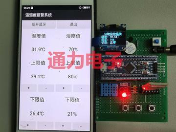 基于STM32的温湿度监控报警系统设计(毕设全套资料)
