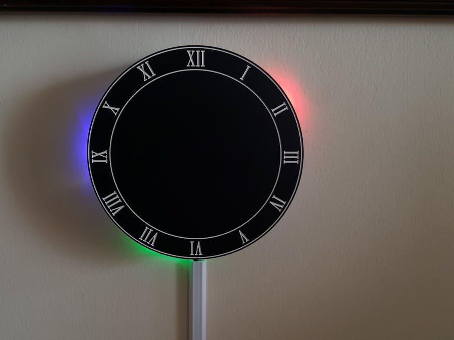 創意時鐘DIY,LED時鐘數字顯示
