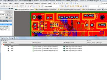 跨界处理器NXP I.MX RT1052 Cortex-M7+SDRAM+SIM7600CE AD版硬件原理图+PCB(4层) 文件