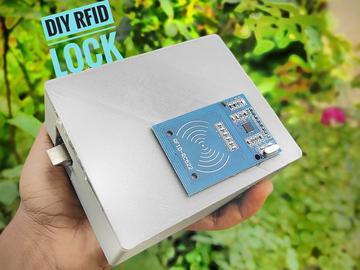 DIY 基于Arduino设计的RFID门锁系统,安全更可靠