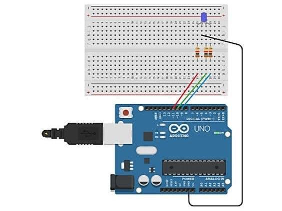 小白入门,使用Arduino工作的RGB LED