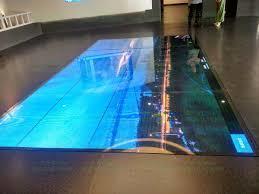 压力传感触控技术在智能地板上的应用与研究