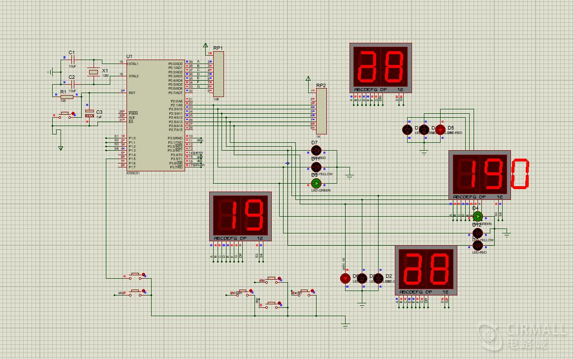 最新智能交通灯设计,独特紧急模式设计