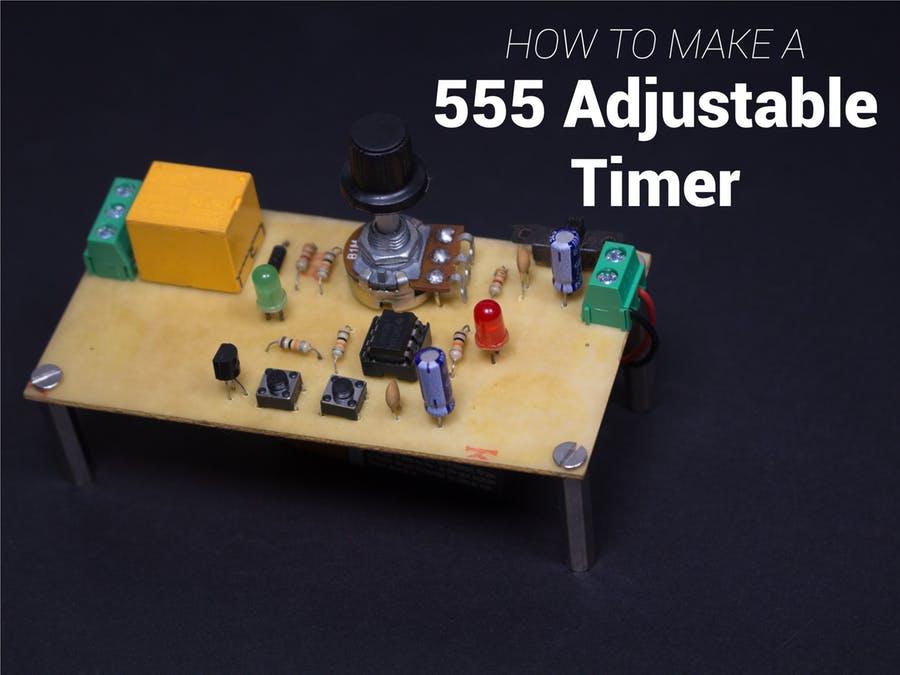 DIY 555精确可调节定时器