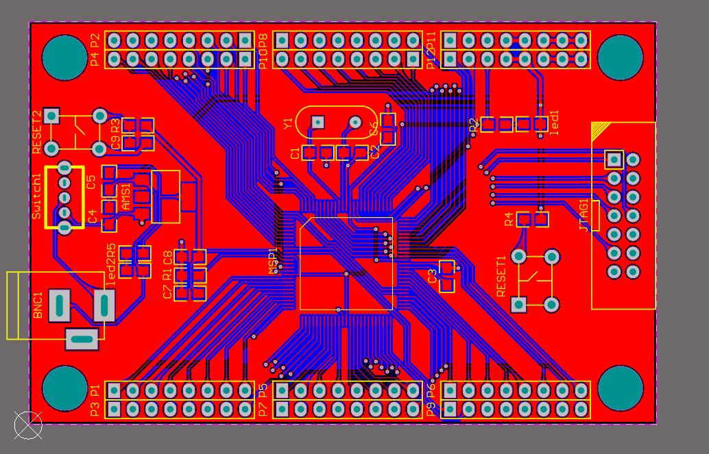 STM32RBT6最小系統