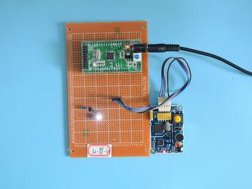 基于STM32单片机的语音识别控制PWM灯亮度亮灭智能台灯设计-万用板-电路图+程序+论文99