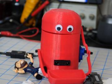 使用ESP8266搭建会吃东西的Arduino机器人