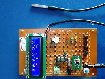 基于51单片机的蓄电池的状态监测设计-ACS712-DS18B20-(电路图+程序源码+论文)