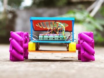 基于 ESP8266 的机械轮车