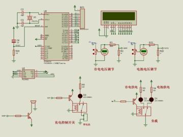 基于单片机的家用应急电源的设计(仿真+源码+原理图+设计流程+硬件清单+视频讲解)