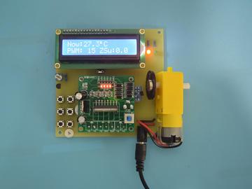 004基于51单片机的霍尔测转速表温度检测档位设定设计