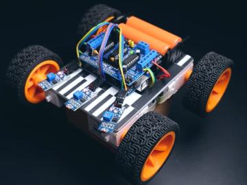 Arduino项目:制作Arduino光跟踪机器人