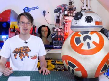 HAL9000:平衡球机器人,进阶版BB-8