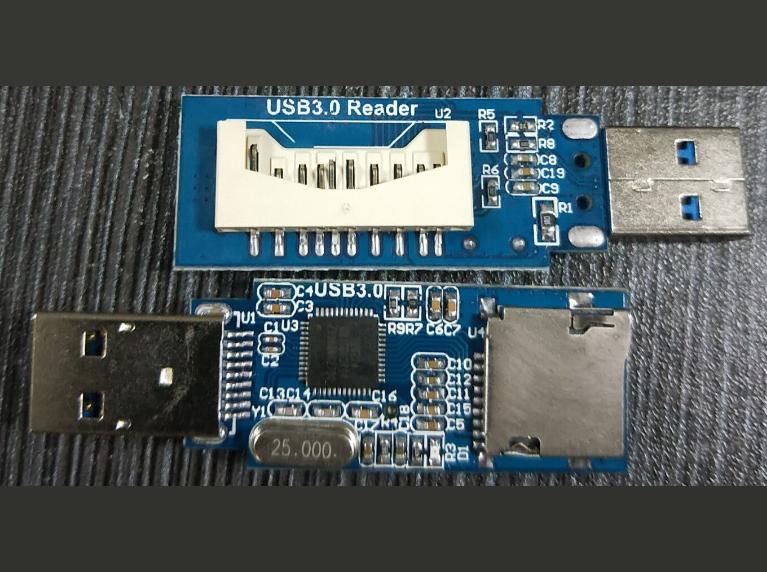 GL3224 USB3.0读卡器设计,SCH和PCB及Gerber和元件清单