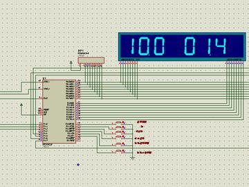 基于单片机的出租车计价器设计(proteus仿真+源程序+原理图)