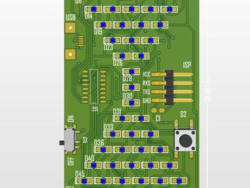 基于STC15电子沙漏设计方案(已量产)