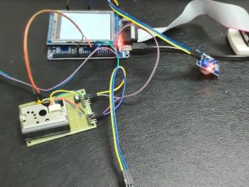 基于stm32f103的室内安全环境监测系统电路方案(含视频)