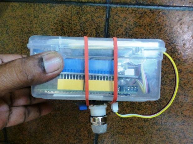 使用聯發科技LinKIt One的液化石油氣/沼氣檢測系統