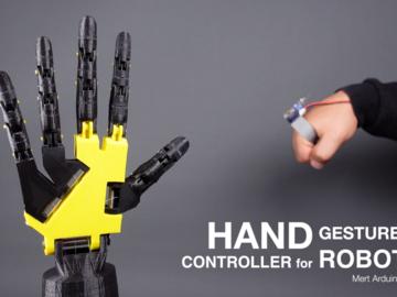 基于Arduino Pro Mini的机器人手势控制器