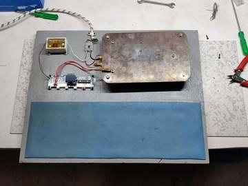 利用可循环废铁制作一个DIY SMT电磁炉