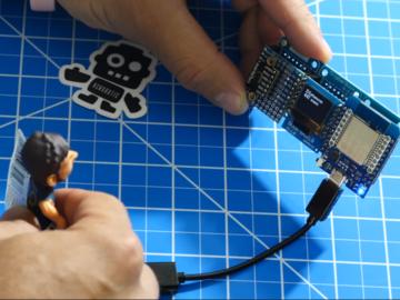 基于SSD1306 OLED和VL53L0X打造ESP32激光测距仪