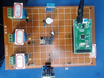 基于STM32单片机的智能家电控制系统设计-光敏-DHT11-MQ125-(源码+电路图)