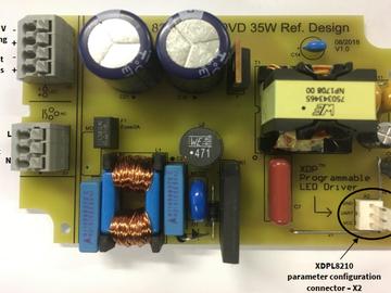 基于 Infineon XDPL8210数字内核高功率因数35W flyback LED照明电源方案