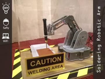 国外大神DIY基于Arduino的自动焊接机械臂