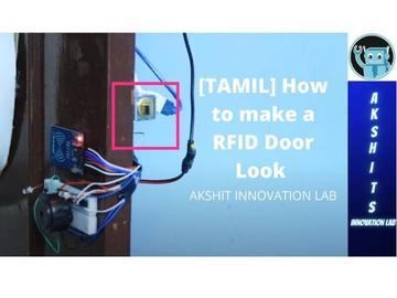 如何制作RFID门锁