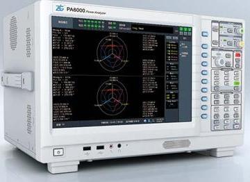 基于PA6000功率分析仪的风能并网发电机组整体测试方案